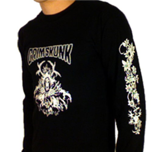 GrimSkunk - Fires Under The Road Long Sleeve