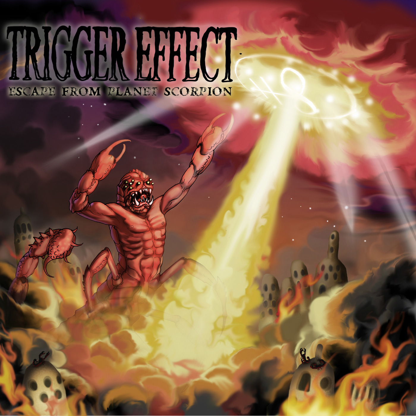 Trigger Effect - Escape From Planet Scorpion
