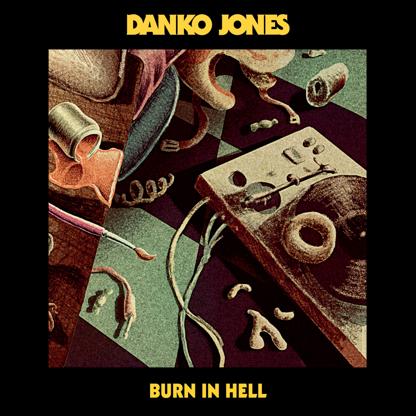 Danko Jones - Burn in Hell